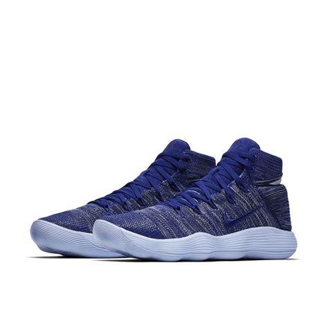 Promo Sepatu Basket Nike Hyperdunk 2017 High Flyknit Blackout purple blue womens nike hyperdunk 2017 shoes