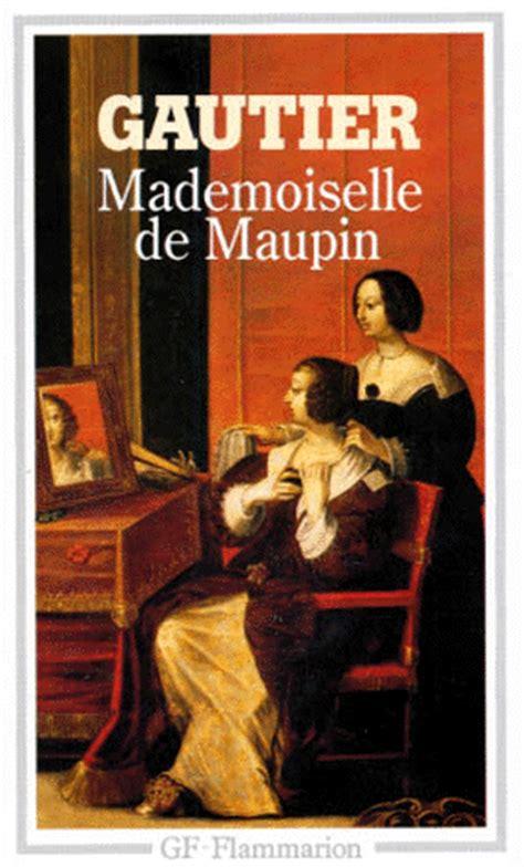 mademoiselle de maupin 8439720564 mademoiselle de maupin th 233 ophile gautier decitre