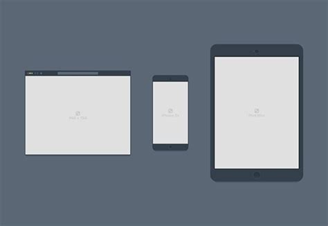 tablet template psd containers psd browser devices mockups freebiesbug