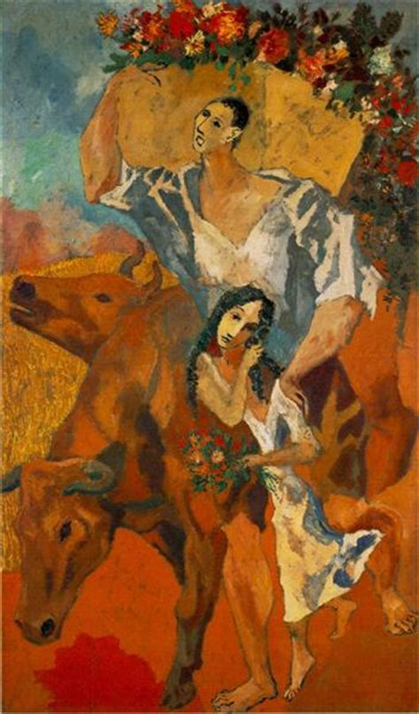 picasso paintings by date composition quot peasants quot 1906 pablo picasso wikiart org