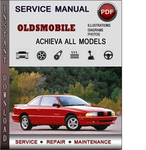 oldsmobile achieva service repair manual download info service manuals