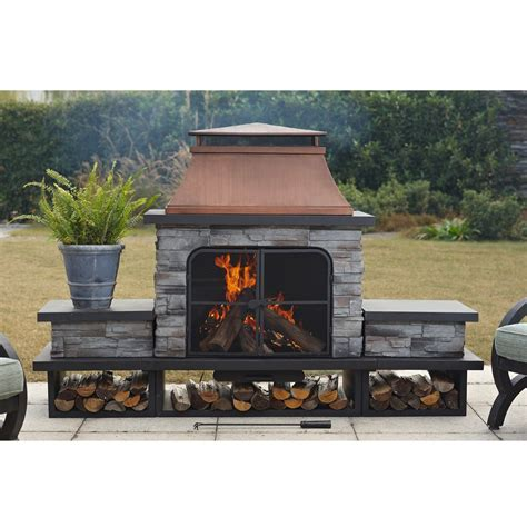 sunjoy l of083pst 2 manton fireplace lowe s canada