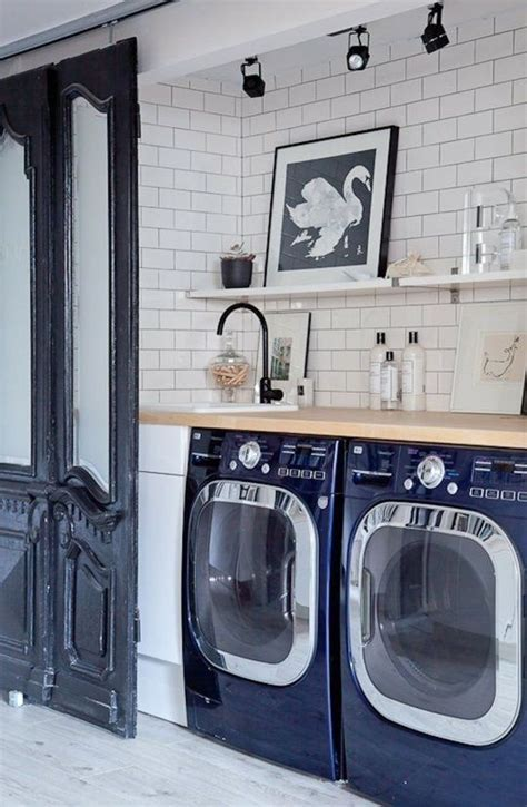 1000  ideas about Blue Laundry Rooms on Pinterest