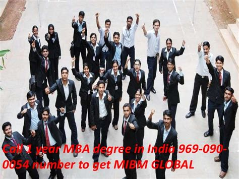 Mba One Year India by Ring On 969 090 0054 1 Year Mba Degree In India To Get
