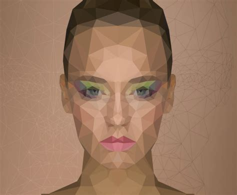 tutorial illustrator low poly low poly portrait effect in photoshop