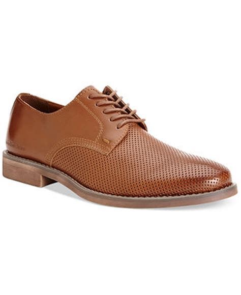 perforated oxford shoes robert redford calvin klein onyx perforated oxford