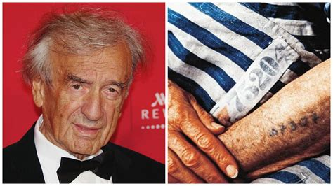 elie wiesel tattoo his message wouldn t die just like the concentration c