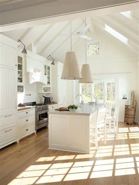 kitchen vaulted ceiling design kitchen inspiration