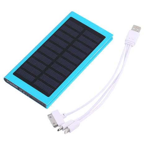 Powerbank Solar 100000mah large capacity 100000mah 2 usb port solar external power bank for iphone sm
