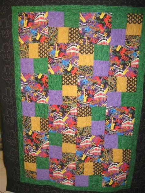 Quilt Shops New Orleans by New Orleans Mardis Gras Quilt Things I Ve Made