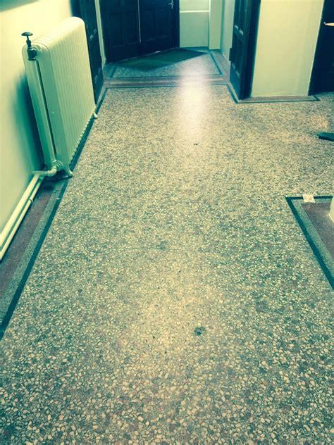 terrazzo flooring terrazzo tiled church floor restored in redhill cleaning