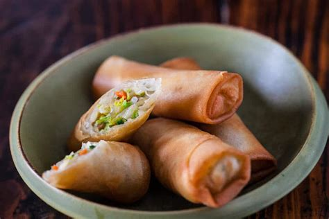 new year egg roll recipe vegetable rolls recipe steamy kitchen