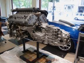 Bugatti Engine Block Bugatti Veyron W16 Engine And Gearbox At Hr Owen
