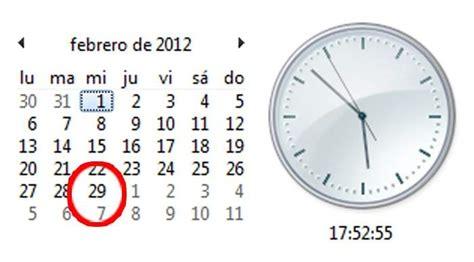 Calendario Bisiesto Los A 241 Os Bisiestos Como 2012 Evitan Que El Calendario Se