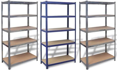 scaffale magazzino scaffale da magazzino groupon goods