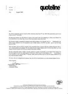 Insurance Renewal Letter Sles Quoteline Direct Hc Insurance Problem