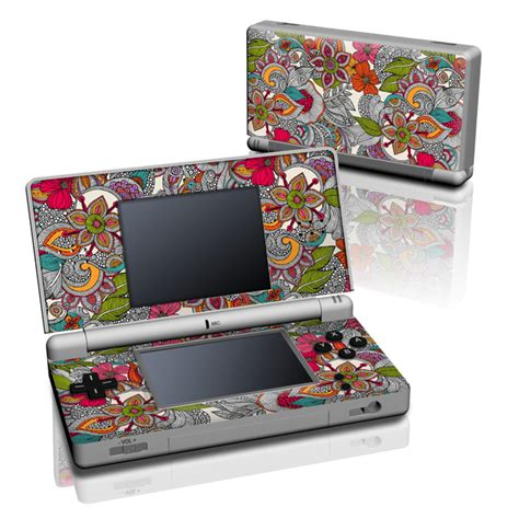 doodle for nintendo ds ds lite skin doodles color by valentina ramos decalgirl