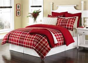 Martha Stewart Duvet Martha Stewart Collection Winter Tartan Twin Flannel Duvet