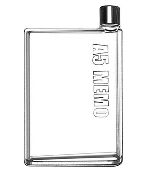 To Market Recap Cool Flask by Cool Trends Transparent Hip Flask Memo Bottle Buy