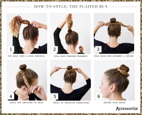 essay hair styles buns step by step hair tutorials 15 simple easy hairstyles you should not