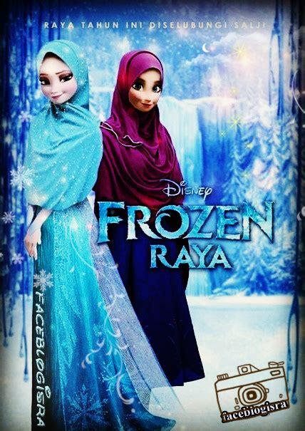 Mukena Frozen Elsa M baju frozen dewasa holidays oo