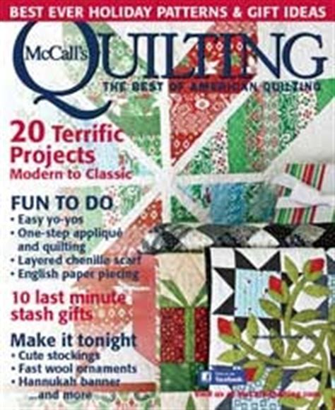 Arm Quilting Magazine by Moose On The Porch Quilts Mccall S Cover Quilt
