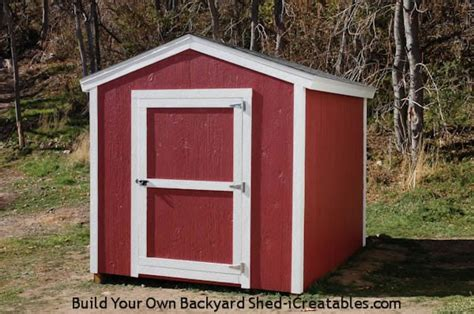 8x10 Sheds by Shed Plans How To Build A Shed Icreatables