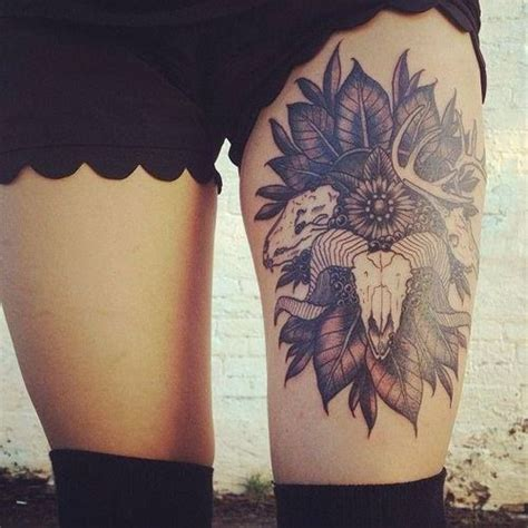 tattoo beautiful pinterest beautiful thigh tattoo tattoos pinterest