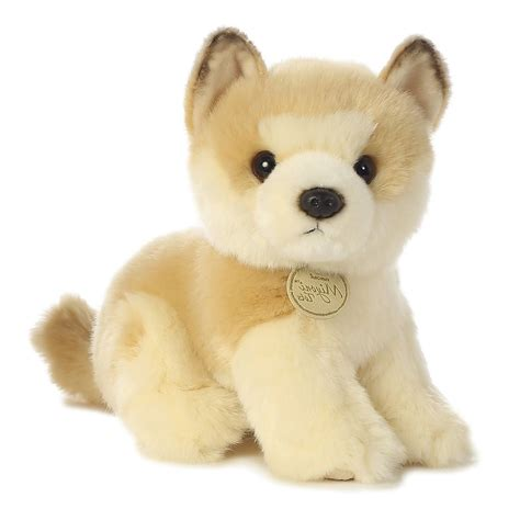 puppy stuffed animals stuffed puppy plush soft animal akita baby cuddly small doll gift ebay