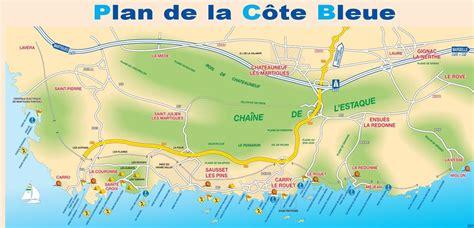 Plan plan de la cote bleue artisan taxi benoit