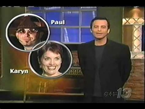 Show On The Date blind date tv show paul and karyn