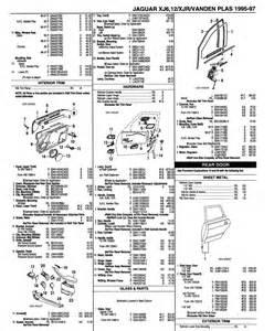 Jaguar Parts List Jaguar Xj6 X300 1995 1997 Door Parts List Jaguar Vanden