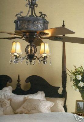 bedroom chandeliers with fans new 54 quot french country elegant ceiling fan ceiling fan