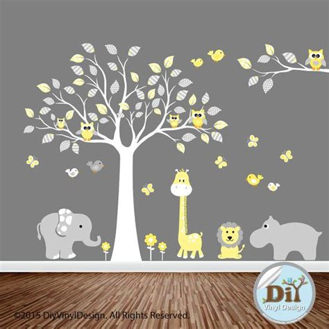 cheap nursery wall decals 25 best ideas about yellow rooms on grey