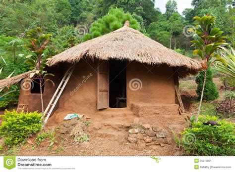 clay house clay house stock image image 35910851