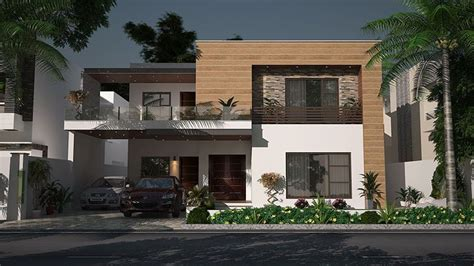 1 kanal house design contemporary residence by kashif associates 1 kanal house