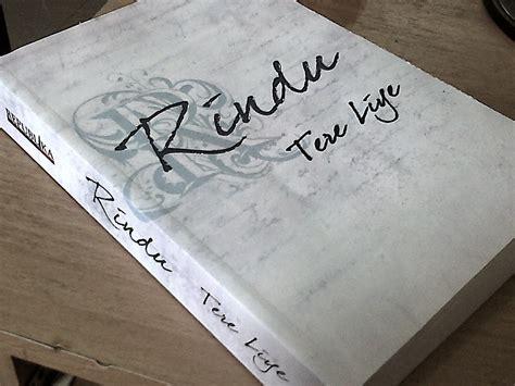 Buku Novel Rindu Tere Liye Republika Yi resensi novel quot rindu quot tere liye