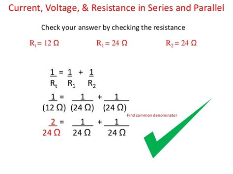 resistors in parallel and series 17 resistance in series and parallel