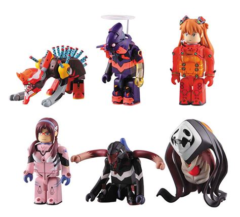 Medicom Kubrick Evangelion Box Set evangelion fracture kubricks collectiondx