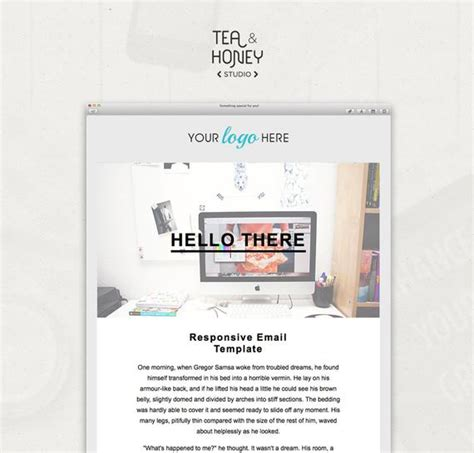 Html Email Template Mailchimp Newsletter Design Resposive Mailchimp Html Email Templates