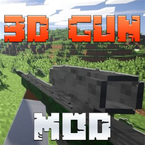 mod game minecraft 3d guns mod for minecraft pc edition guide free par