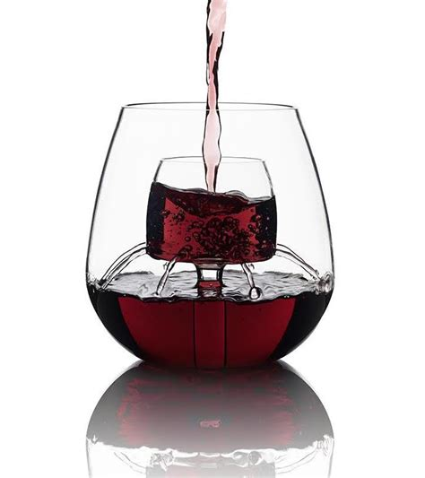 50 cool unique wine glasses assess myhome stemless aerating wine glass chevalier collection ltd