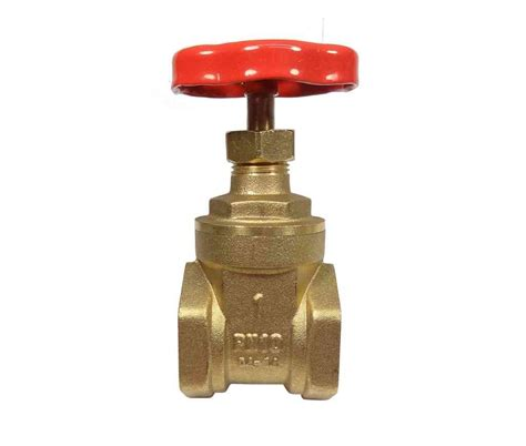 Valve 3 Way Bronze Drat 1 2 Inch Onda 7150636 inch threaded brass gate valve best free home design