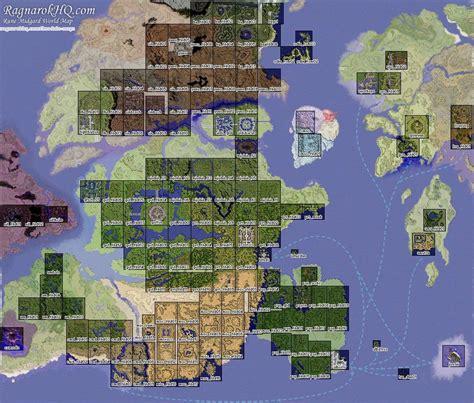 maps world map ragnarok