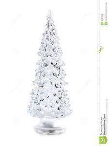 Blue White And Silver Christmas Tree - glass christmas tree stock photo image 48361452