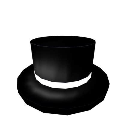 Top Hat Klasik classic black top hat roblox