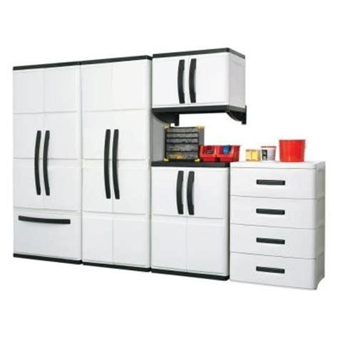 Hdx Cabinets by Hdx 25 In Plastic Cabinet Basement Base