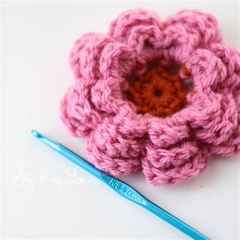 flower pattern crochet for beginners learn how to crochet this flower so pretty crafts