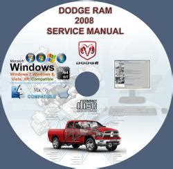 service manual dodge ram 1500 2500 3500 repair manual download dodge ram 2007 2008 dodge ram dodge ram 1500 2500 3500 4000 4500 5500 truck 2008 service repair manual cd includes srt and