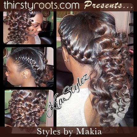 sew in updo hairstyles for prom sew in curly hairstyle thirstyroots com black hairstyles